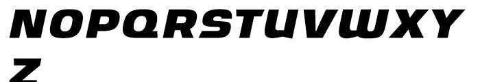 Ritafurey Bold Italic Font UPPERCASE