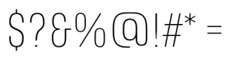 RICHARD MILLER ROUNDED UltraLight Font OTHER CHARS