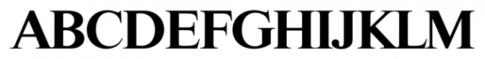 Riccione Serial Bold Font UPPERCASE