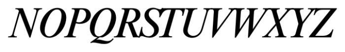 Riccione Serial Italic Font UPPERCASE