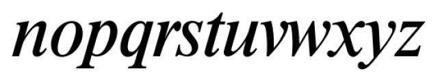 Riccione Serial Italic Font LOWERCASE