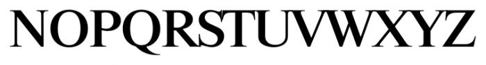 Riccione Serial Medium Font UPPERCASE