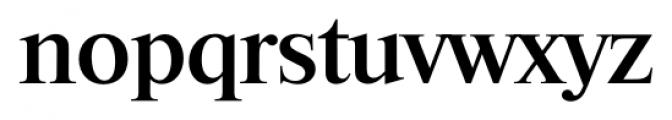 Riccione Serial Medium Font LOWERCASE
