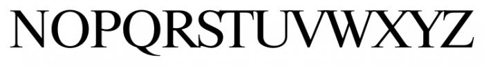 Riccione Serial Regular Font UPPERCASE