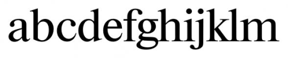Riccione Serial Regular Font LOWERCASE