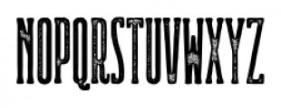 Ridewell Print Font UPPERCASE