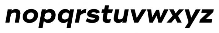 Ridley Grotesk Bold Italic Font LOWERCASE