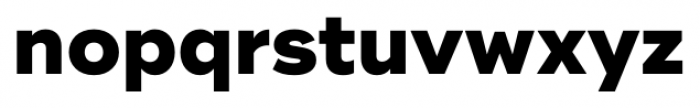 Ridley Grotesk Extra Bold Font LOWERCASE