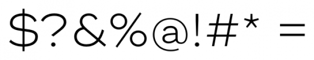 Ridley Grotesk Light Font OTHER CHARS