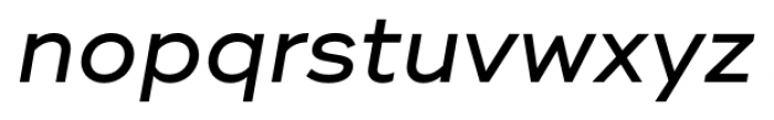 Ridley Grotesk Medium Italic Font LOWERCASE