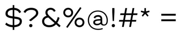 Ridley Grotesk Regular Font OTHER CHARS