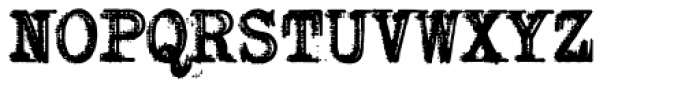 RIPTypewriter Font UPPERCASE