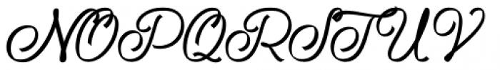 Ribbons Regular Font UPPERCASE