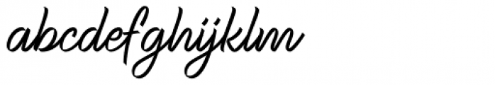 Ribbons Regular Font LOWERCASE