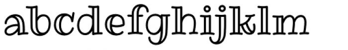 Ribeye Pro Marrow Font LOWERCASE