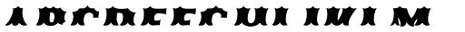 Ribfest Fill T Regular Italic Font LOWERCASE