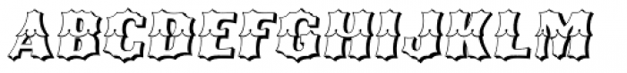Ribfest Open Regular Italic Font UPPERCASE