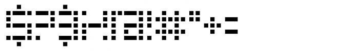 Riblah Regular Font OTHER CHARS
