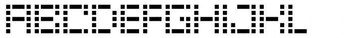Riblah Regular Font UPPERCASE