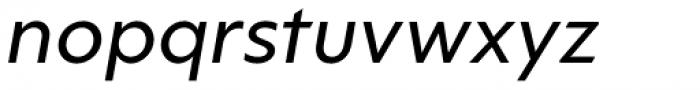 Ricardo ALT Medium Italic Font LOWERCASE