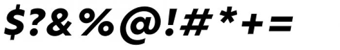 Ricardo Extra Bold Italic Font OTHER CHARS