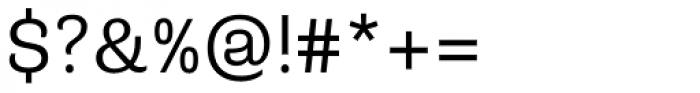 Riccia Book Font OTHER CHARS