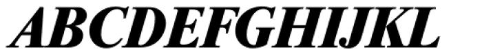 Riccione Serial ExtraBold Italic Font UPPERCASE