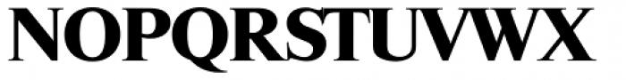 Riccione Serial ExtraBold Font UPPERCASE