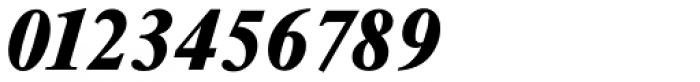 Riccione Serial Heavy Italic Font OTHER CHARS