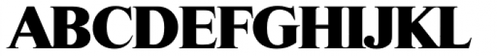 Riccione Serial Heavy Font UPPERCASE