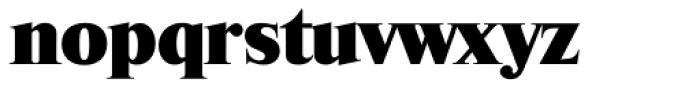 Riccione Serial Heavy Font LOWERCASE