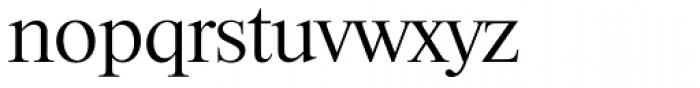 Riccione Serial Light Font LOWERCASE