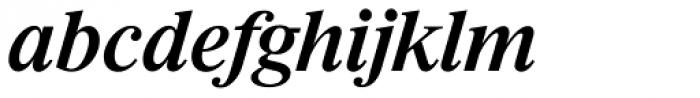 Riccione Serial Medium Italic Font LOWERCASE