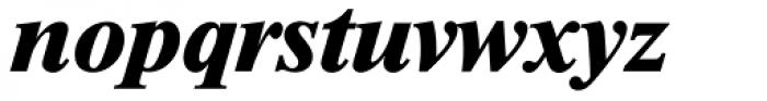 Riccione TS Bold Italic Font LOWERCASE