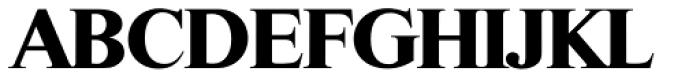 Riccione TS Bold Font UPPERCASE