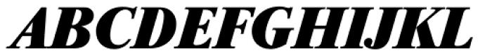 Riccione TS ExtraBold Italic Font UPPERCASE