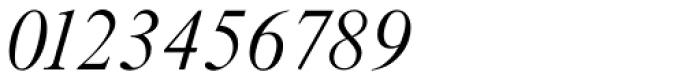 Riccione TS ExtraLight Italic Font OTHER CHARS