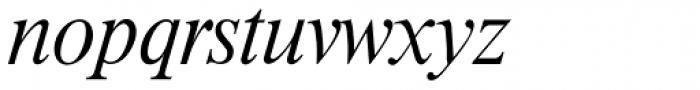 Riccione TS ExtraLight Italic Font LOWERCASE