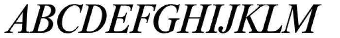 Riccione TS Italic Font UPPERCASE