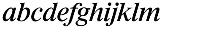 Riccione TS Italic Font LOWERCASE