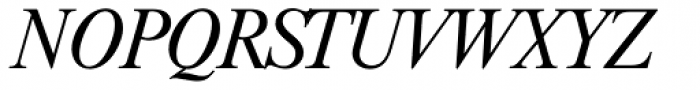 Riccione TS Light Italic Font UPPERCASE