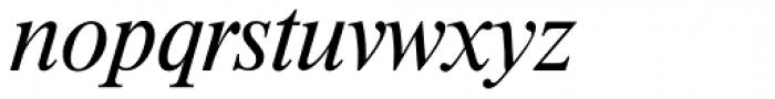 Riccione TS Light Italic Font LOWERCASE