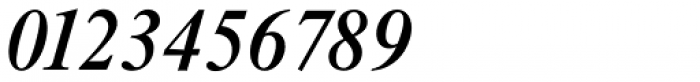 Riccione TS Medium Italic Font OTHER CHARS