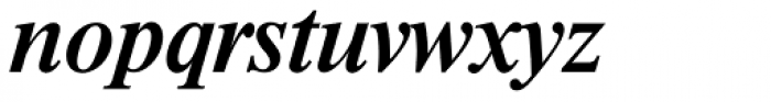 Riccione TS Medium Italic Font LOWERCASE