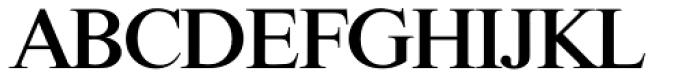 Riccione TS Medium Font UPPERCASE