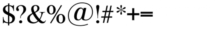 Riccione TS Regular Font OTHER CHARS
