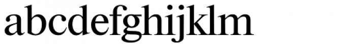 Riccione TS Regular Font LOWERCASE