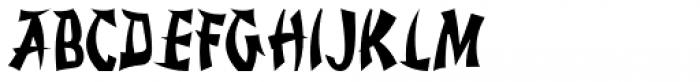 Rice Wine JNL Font UPPERCASE