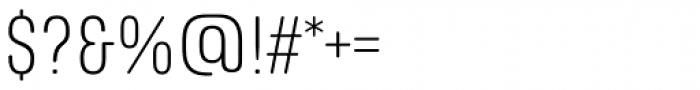Richard Miller Rounded Light Font OTHER CHARS