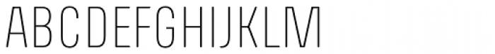 Richard Miller Rounded UltraLight Font UPPERCASE